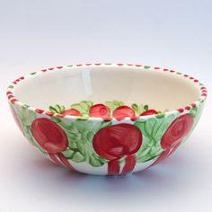 wenemar Serving Bowls, Tableware, Kitchen, Red, Green, Tablewares, Dinnerware, Cooking, Kitchens