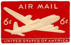 USA Air Mail Stamp