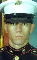 Marine Corps Pfc. Christopher Ramos  Died April 5, 2004 Serving During Operation Iraqi Freedom  26, of Albuquerque, N.M.; assigned to 1st Battalion, 5th Marines, 1st Marine Division, I Marine Expeditionary Force, Camp Pendleton, Calif.; killed April 5 by hostile fire in Anbar province, Iraq.
