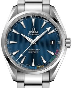 "Omega Seamaster Aqua Terra 'PyeongChang 2018' Limited Edition Watch For 2018 Olympics - by Santiago Tejedor - on aBlogtoWatch.com ""If there is one watch brand that can rightfully claim its podium in the Olympic Games, it is Omega. Since Omega's debut as the first Olympic timekeeper in 1932 at the Los Angeles games, chosen to supply 30 stopwatches and a watchmaker to measure elapsed times, the Swiss brand has been a regular participant in the world's most famous sporting event..."""
