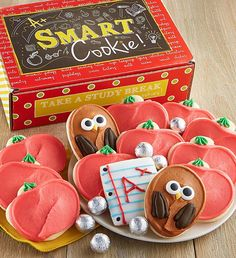A+ Smart Cookie Treats Gift Box   Back to School Ideas   Cheryls.com   Your top students will love this gift box!