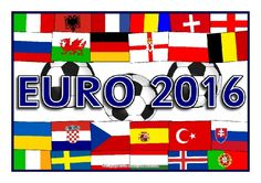 The European Championships (Euro 2016) Display Posters (SB11525) - SparkleBox