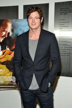 Happy 31st birthday Benjamin Walker !!!!! 06/21@FindtheWalker Benjamin Walker, 31st Birthday, Man Candy, Suit Jacket, Breast, Husband, Suits, Celebrities, Hot