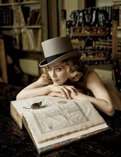 "Madonna by Lorenzo Agius for ""Ladies Home Journal,"" 2005"