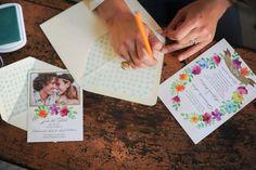 adorable wedding invitation