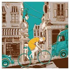 #Bicicleta #Ilustração #bicicletarte