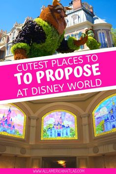12 + Best Places to Propose at Disney World: Magical Disney Proposal Ideas (to Make You Believe in Love)