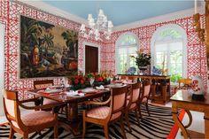 The Glam Pad: Carleton Varney Designs a Palm Beach Masterpiece