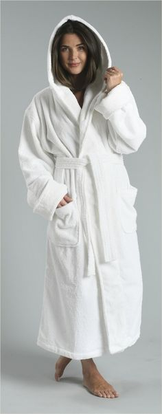 Terry Hooded Robe Hooded Kimono Robe is the ultimate bathrobe. Made of hotel 751410e34