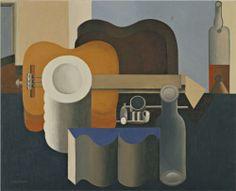 Still Life, 1920. Le Corbusier. Cubism, Purism.