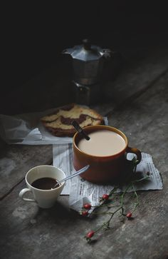 Love coffee and cappuccino