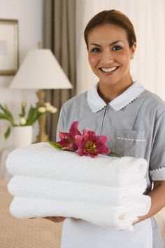 With our expert property cleaners you never ever need to stressthat the work will be done inaccurately or incompletely considering that we do not quit till you arepleased and we just work with the very best in qualified professionals. Cleaning Uniform, Housekeeping Uniform, Butler Service, Office Cleaning Services, Village Inn, Maid Uniform, Hotel Services, Child Smile, A Perfect Day