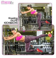 Kneeling Cable Kickbacks: one of the best exercises to activate the glutes and build a mind-muscle connection.