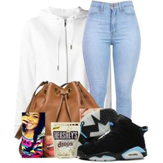 A fashion look from March 2015 featuring Yves Saint Laurent hoodies, NIKE sneakers and MICHAEL Michael Kors shoulder bags. Browse and shop related looks.