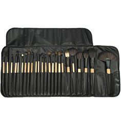 Proffessional Makeup Brushes Set of 24 Great for Highlighting and Countouring By Beauty Bon * More info could be found at the image url.