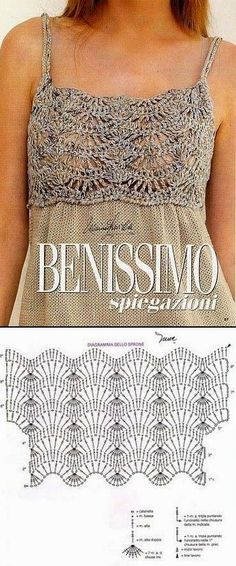 BLOUSES WITH BEAUTIFUL GRAPHICS. SEE! - Crochet Designs Free