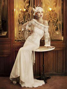 Vestido de noiva de YolanCris. #casamento #vestido #noivas #vintage