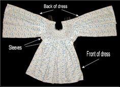 A great tutorial on the anatomy of a smocked bishops dress