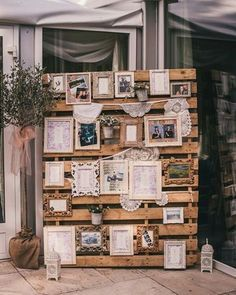 Ideia de como usar paletes na decoração! ❤️ Foto: This Modern Love
