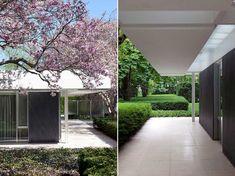 Miller House in Columbus, Indiana by Eero Saarinen | Yellowtrace