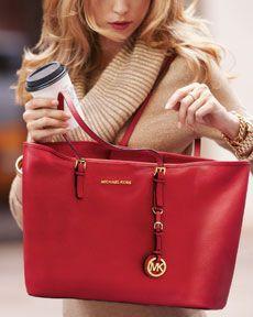 49a5b3eae4f6 I like this bag. I think it would be perfect for work Red Michael Kors