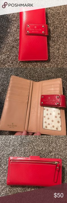 Kate spade Wellesley Stacy Gently used / great condition. Gold dots interior. kate spade Bags Wallets