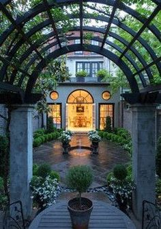 Gorgeous courtyard