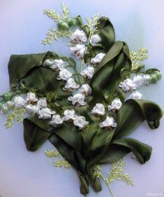 silk ribbon embroidery tutorials   ... ribbons i suggest to use bright white silk ribbons for this project