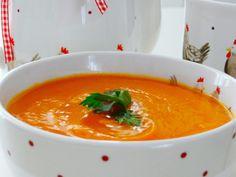 Butternut squash soup/Supă cremă de dovleac