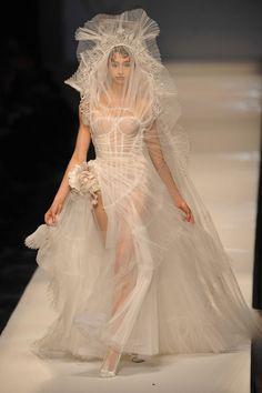 Le défilé Jean Paul Gaultier haute couture printemps-été 2009 25 | Vogue