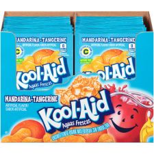 Kool Aid Aguas Frescas Unsweetened Mandarina Tangerine Powdered Drink Mix 0 16 Oz Envelope Kool Aid Mixed Drinks Flavored Drinks