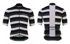 Men's Cycling Jersey Francine Grey Tone | Café du Cycliste