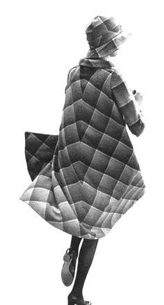 Ann Schaufuss in a Biba coat, 1971. Biba inspiration. #1960s #biba
