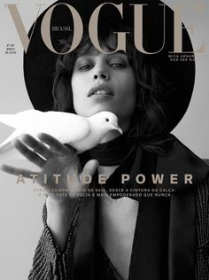 Mica Arganaraz by Zee Nunes for Vogue Brazil March 2019 Magazine Cover Page, Vogue Magazine Covers, Vogue Covers, Karl Lagerfeld, Commercial Modeling, Yves Saint Laurent, Vogue Brazil, Fashion Cover, Fashion Photography Inspiration