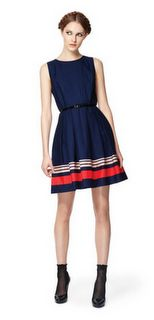 Jason Wu for Target navy poplin dress. I have been on the lookout for this. Havent found it yet :(