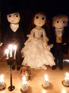 The Phantom of the Opera dolls..........by ~Meowkin on deviantART