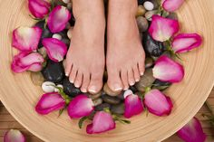 Hot Stone Massage on the feet...absolutely amazing....add a little acupuncture, and it pure heaven.....
