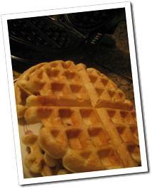 Gluten Free Belgian Waffles - oh the yummyness !! So good
