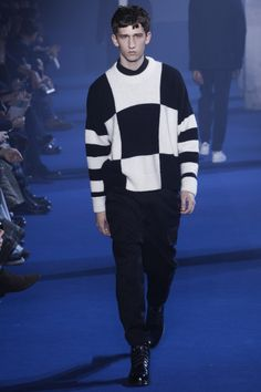 Ami Fall 2016 Menswear Fashion Show