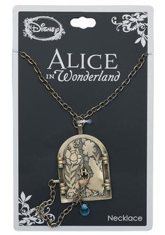 Locked Door - Alice in Wonderland Collana