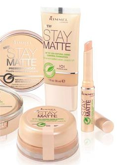 STAY MATTE FOUNDATION: Mattifying mousse foundation with cucumber and camomille for up to wear//ooh I wanna try this whole line. Rimmel Makeup, Drugstore Makeup, Makeup Brands, Makeup Cosmetics, Makeup Products, Beauty Products, All Things Beauty, Beauty Make Up, Beauty Tips