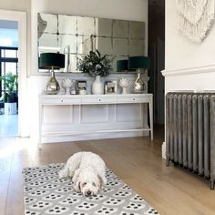 I love taking inspiration from traditional rustic French style and mixing it with clean contemporary Scandinavian design. Console Styling, Rustic French, Blue Rooms, Room Tour, Hallway Decorating, Make Design, Home Decor Trends, Comfort Zone, Home Living Room