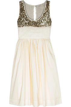day birder et mikkelsen sequin + cotton sleeveless dress