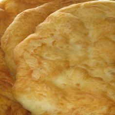 Calming Wind's bannock (Muskogee Creek Native American sour fry bread) @keyingredient #bread