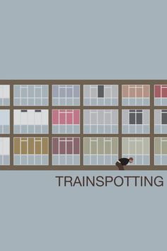 Choisir Vie Citation Trainspotting Movie Grande Toile Art Imprimé A0 A1 A2 A3 A4