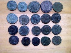 Roman lot coins