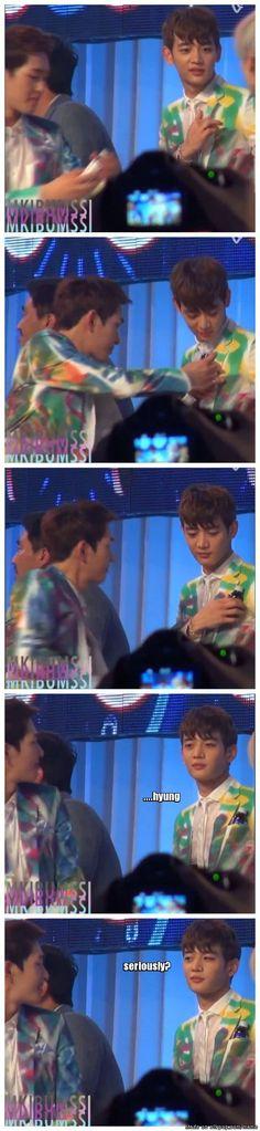 Minho's handkerchief is missing?? No worries!! Majinki is here!! | allkpop Meme Center