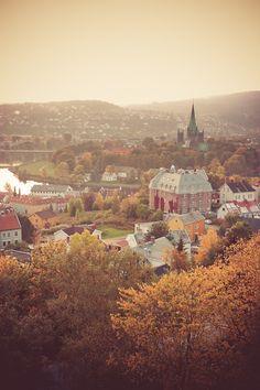 Trondheim by Inge Thorud