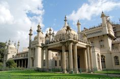 The Royal Pavilion, Brighton is a former royal residence, it was built in three campaigns, beginning in 1787, as a seaside retreat for George, Prince of Wales (Prince Regent). It is often referred to as the Brighton Pavilion