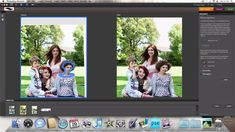 How I use PSE Photomerge Faces tool